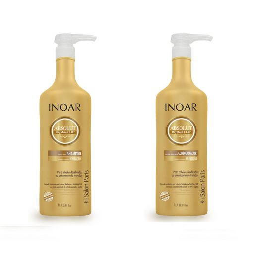 Inoar Absolut Day Moist shampoo and conditioner ( 2 x 1000 ml )