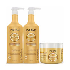 Inoar Absolut Day Moist shampoo, conditioner and mask ( Large Kit )