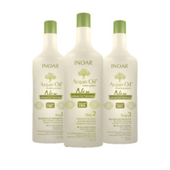 Inoar Argan Oil Keratin Treatment ( Complete treatment | 3 x 1000 ML)