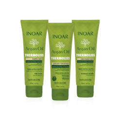 Inoar Argan oil Thermoliss Smooth kit ( with leave-in conditioner | 3 x 240 ml)