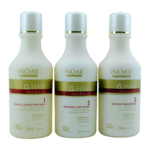 Inoar GHair Keratin Treatment ( 3 x 250 ML )