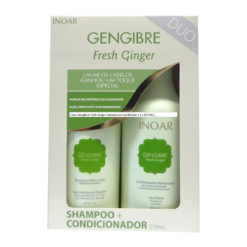 Inoar Gengibre Fresh Ginger shampoo and conditioner ( 2 x 250 ML )