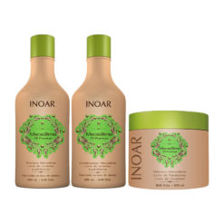 Inoar Macadâmia Oil Premium kit ( 3-pcs with mask )