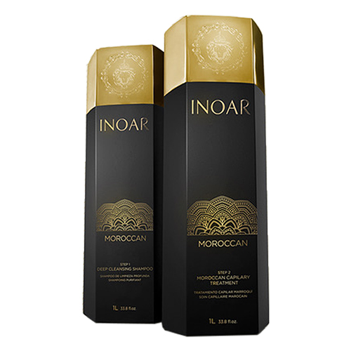 Inoar Moroccan Keratin Treatment ( Complete treatment | 2 x 1000 ML)