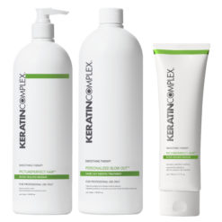 Keratin Complex personailzed Blow Out Keratin Treatmant ( kit )