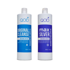 Qod Max Silver keratin treatment with violet Pigment ( Complete treatment )