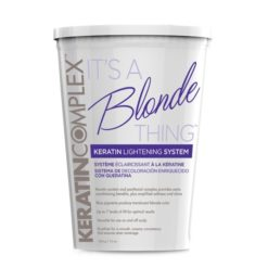 keratin complex its a blond thing powder bleach powder 454 GR