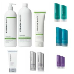 Keratin Complex perspnalized Blow Out Kerating Behandeling ( Starter packet )