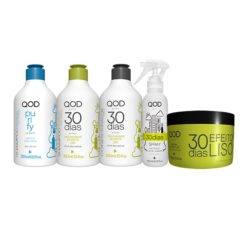 Qod City 30 days Straight Effect Keratin Treatment Complete Treatment