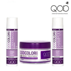 Qod Color Save shampoo, conditioner and mask kit